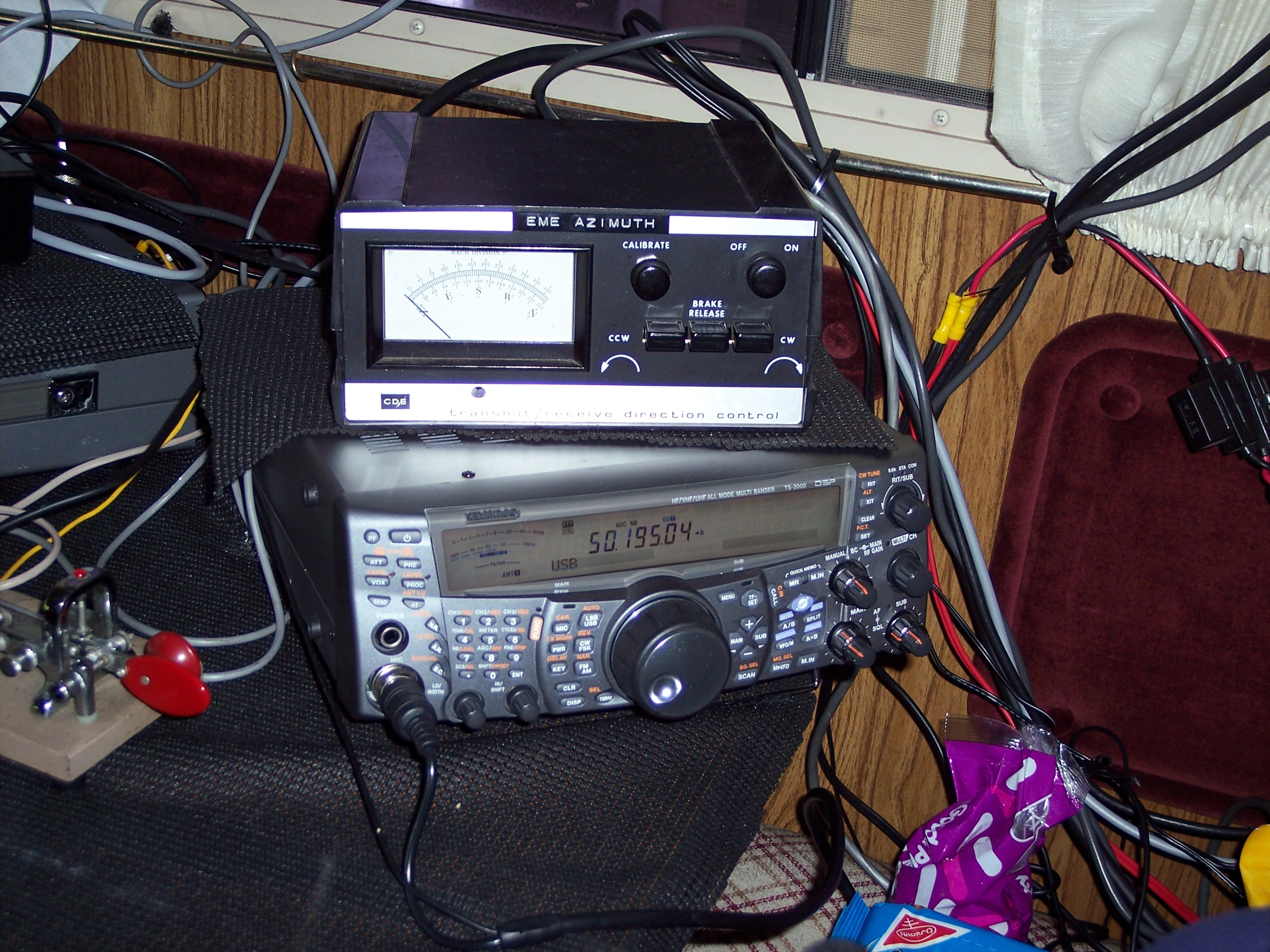 K3lfo W3dio Rover Site 2304 And 3456 Mhz Power Amplifiers We